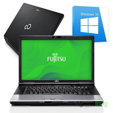 Fujitsu LifeBook E752 / 15-cali / Intel Core i5 / Windows 10