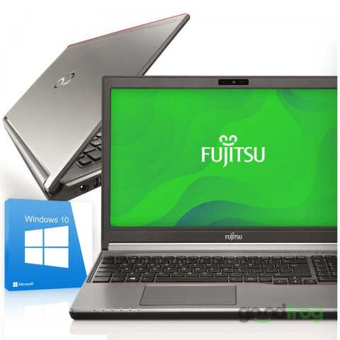 Fujitsu LifeBook E756 / 15-cali / Intel Core i5 6 gen. / 8 GB RAM DDR4 / SSD 256 GB / Windows 10