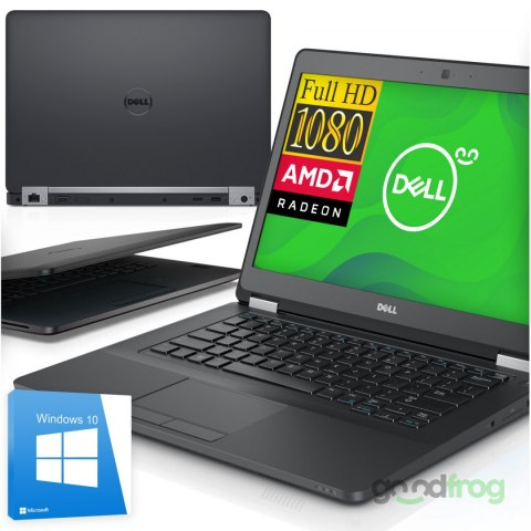 Dell Latitude E5470 / 14-cali Full HD / AMD Radeon R7 / 8 GB RAM DDR4 / M.2 256 GB SSD / Windows 10