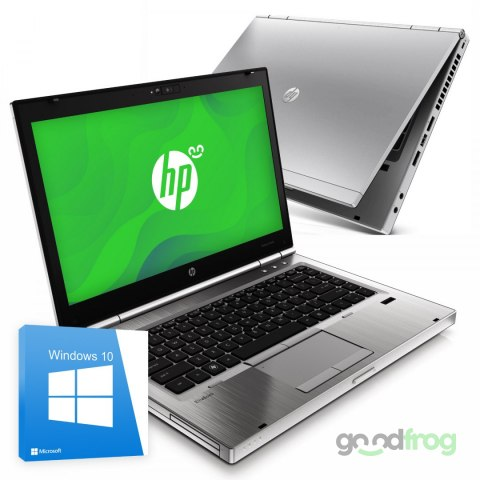 "HP EliteBook 8460p / 14"" / 1366x768 / i5 / 4GB / 120GB SSD / Windows 10"