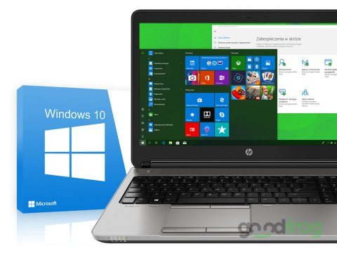 HP ProBook 650 G1 / 15-cali Full HD / Intel Core i7 4 rdzenie / AMD Radeon / Windows 10