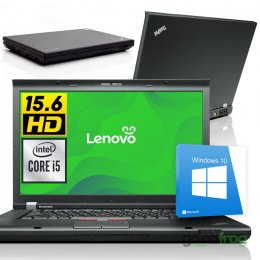"Lenovo ThinkPad T520 / 15"" HD / i5 / 4GB / 320GB / W10"