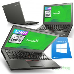 "Lenovo ThinkPad X250 / 12"" HD / i5 / 8GB / 240GB SSD / Windows 10"