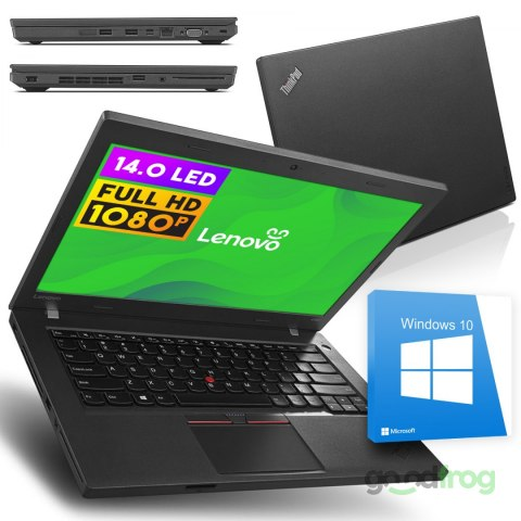 "Lenovo ThinkPad L460 / 14"" / 1920x1080 / 8 GB RAM / 128 GB SSD / Windows 10"