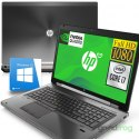 "Stacja robocza HP EliteBook 8770W / 17"" Full HD / i7 / 16GB / SSD 180GB / nVidia Quadro / Windows 10"