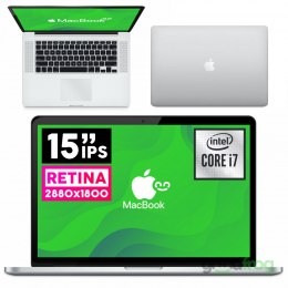 "Apple MacBook Pro (A1398) / 15"" / Retina / i7 Quad / 16GB / SSD 256GB / iOS"