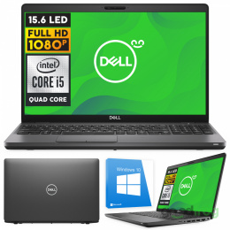 "Dell Latitude 5500 / 15,6"" / Full HD / i5-Quad / 16GB / SSD NVMe 500 GB / W10"